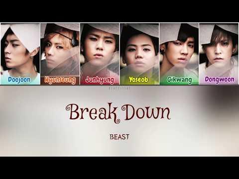 Beast (비스트) - Break Down (Color Coded Lyrics Han/Rom/Eng/가사) mp3