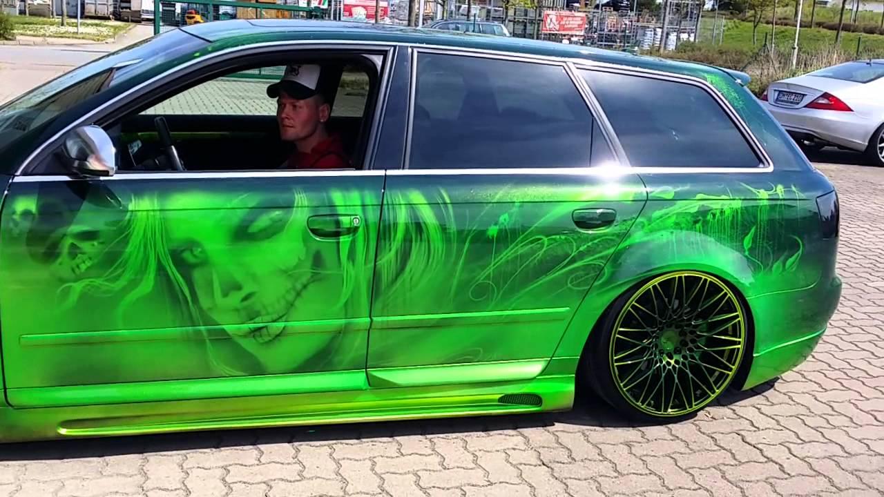 Audi R Paint Job