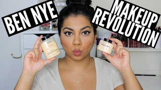 Makeup Revolution Banana Powder vs Ben Nye Banana Powder | MissBeautyAdikt