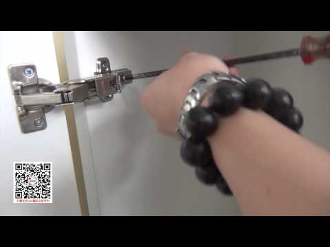 如何安�調節165度大角度液壓鉸��櫃門阻尼鉸�】家具櫥櫃緩�鉸�