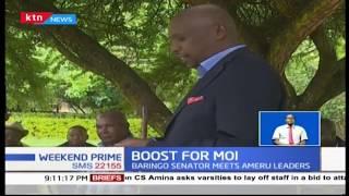 A section of Meru elders meet Senator Gideon Moi