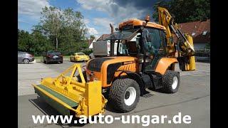 Youtube-Video BM Tractors Better 130 Slim mit McConnel Powerarm PA 53 Mulcher + Astsäge