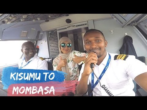 LETS TAKE SILVERSTONE AIR TO MOMBASA FROM KISUMU DIRECT
