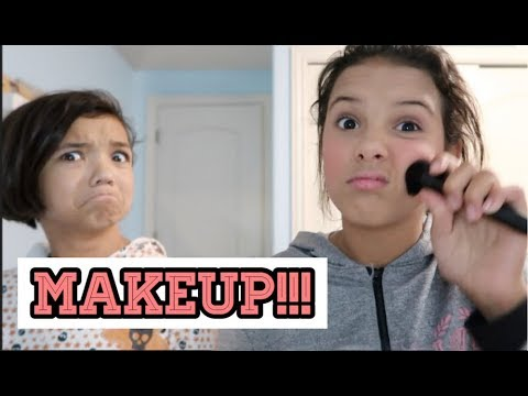 High School vs. Middle School Makeup Routine!!!