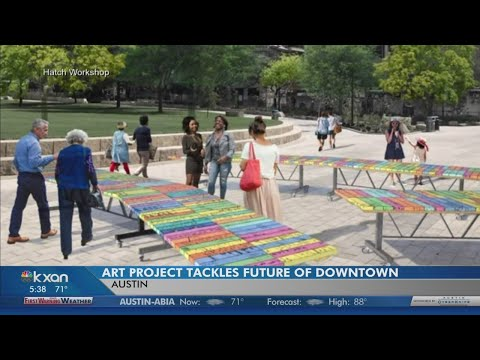 Downtown Austin advocates creating art project with your ideas for city's future