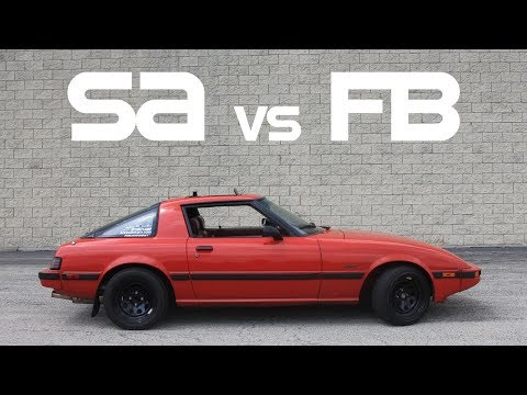 The Differences Between The SA and FB Rx7