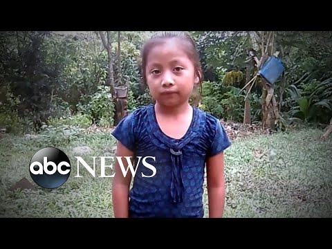 The parents of the girl who died in custody after crossing the border speak out