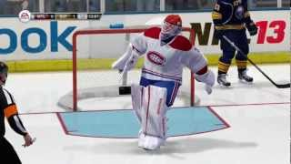 Back skating and goalie improvements in NHL 13 - Gameplay tutorial video