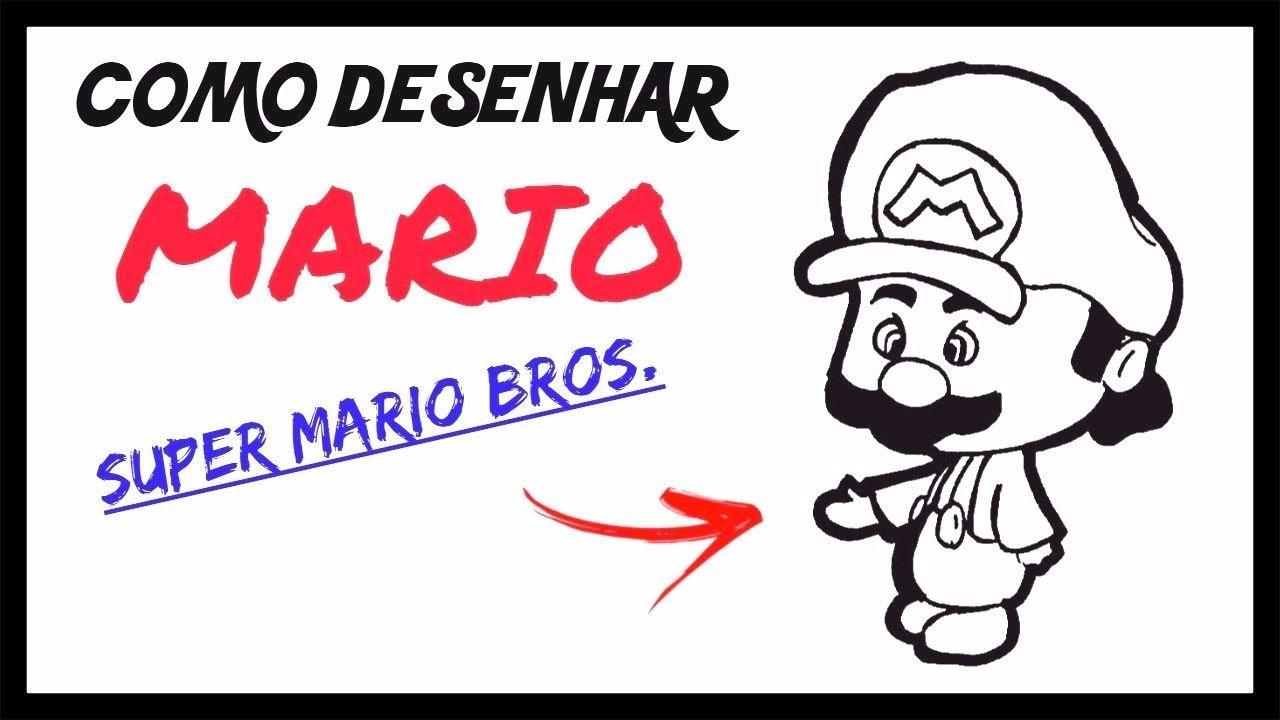 Como Desenhar O Mario Chibi Super Mario Bros Youtube
