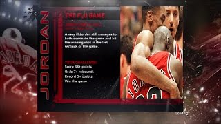 #TBT| NBA 2K11 - JORDAN CHALLENGE| FLU GAME