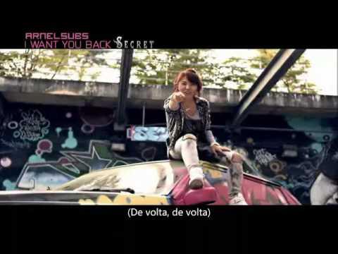 [MV] Secret - I Want You Back (Legendado PT-BR)