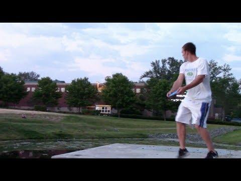 Disc Golf Trick Shots 2