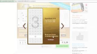 Euro Lotto spielen - Kurzanleitung
