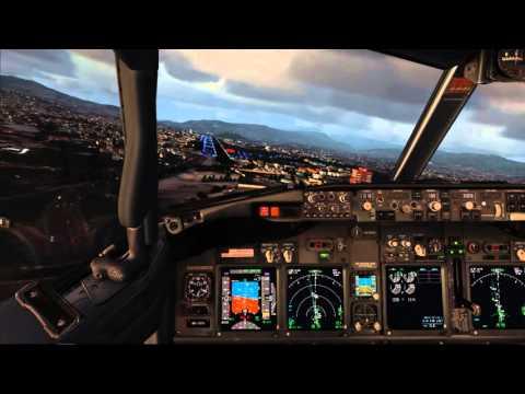 【FSX】Landing in Tegucigalpa Honduras (MHTG)-Boeing 737NGX PMDG✈