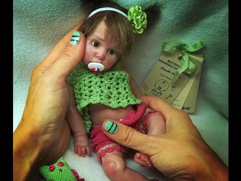 Авторская кукла из силикона Полина / Silicone authors doll Paulina