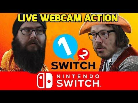 Nintendo 1 2 Switch - WEBCAM LIVE STREAM - Game Society