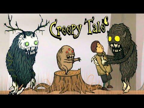 СКАЗКА НАЧИНАЕТСЯ! Приключение в ЖУТКОМ ЛЕСУ с МОНСТРАМИ в Игре Creepy Tale Глава #1