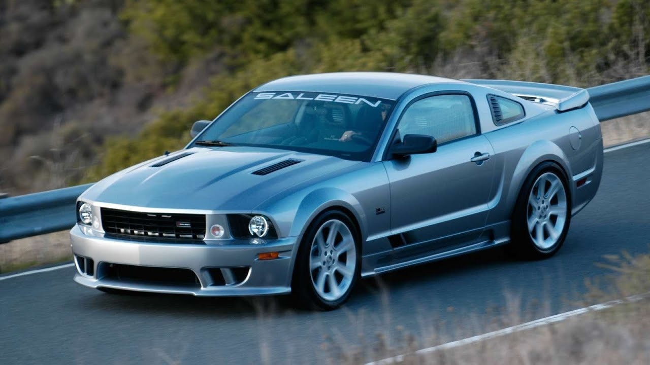 SALEEN Ford Mustang S281 Supercharged (2005) - YouTube