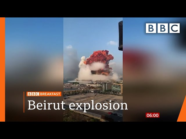 Beirut blast: Lebanon in mourning after massive explosion - Top stories this morning - BBC