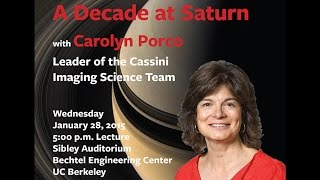 The Sackler Lecture in Astronomy: A Decade at Saturn