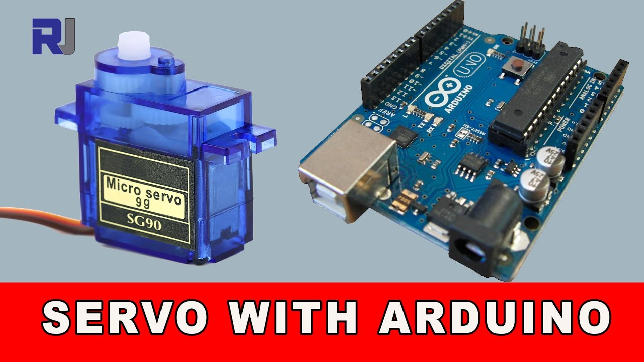 How to control servo motor with arduino with and without for How to control servo motor