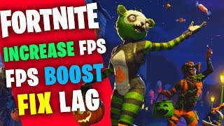 FORTNITE - INCREASE FPS ON AMD LOW END PCs / LAPTOP FPS BOOST SEASON 6 GUIDE 2018