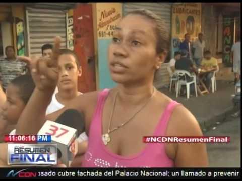 Residentes en Capotillo y Ensanche Luperón protestan en reclamo de energía eléctrica