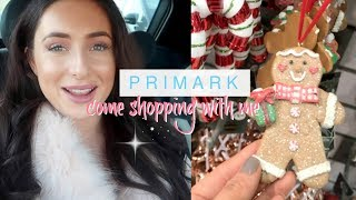 COME SHOPPING WITH ME TO PRIMARK! *NEW IN* HOME, CLOTHING  & CHRISTMAS | PRIMARK DISNEY! Hazel Wood