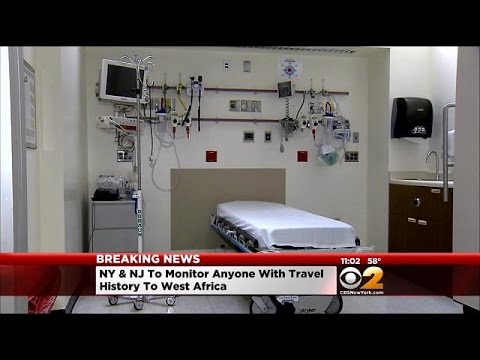 Healthcare Worker In Isolation At Newark Hospital With Symptoms Of Ebola