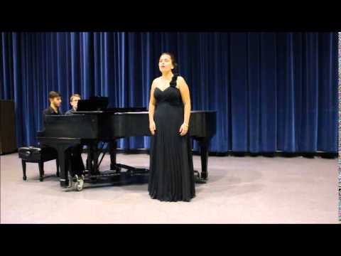 Genie Hossain - Sleep Now, Samuel Barber