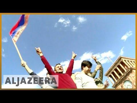 🇦🇲 Armenia Prime Minister Serzh Sargsyan Resigns Amid Protests   Al Jazeera English