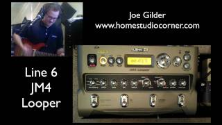 line 6 JM4 Looper Review - HomeStudioCorner.com