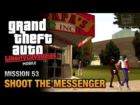 GTA Liberty City Stories Mobile - Mission #53 - Shoot the Messenger