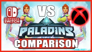 PALADINS (COMPARISON) | Switch VS XBOX One X | Head 2 Head