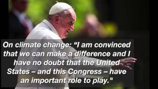 Memorable quotes from Pope Francis' speech to Congress