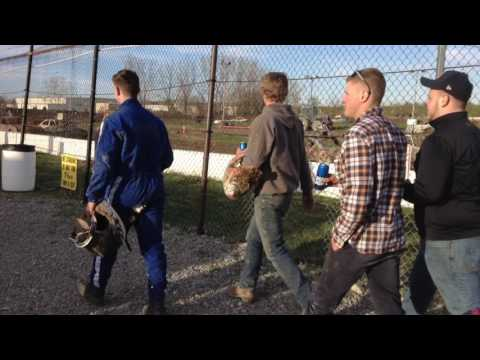 Genesee Speedway spring fling enduro Batavia NY 2017