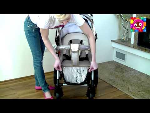 Видеообзор прогулочной коляски Bebetto Magelan