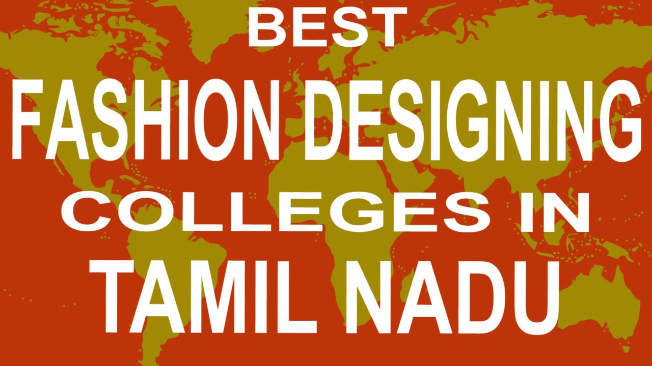 Best Fashion Designing Colleges And Courses In Tamil Nadu Youtube
