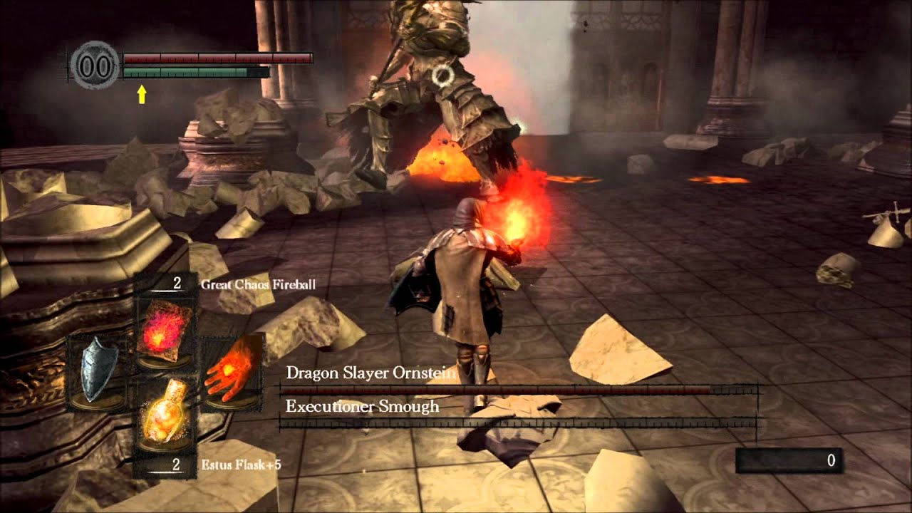 dark souls how to get to ornstein and smough