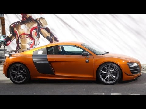 Audi R8 Parade For Iron Man 3 Movie Youtube
