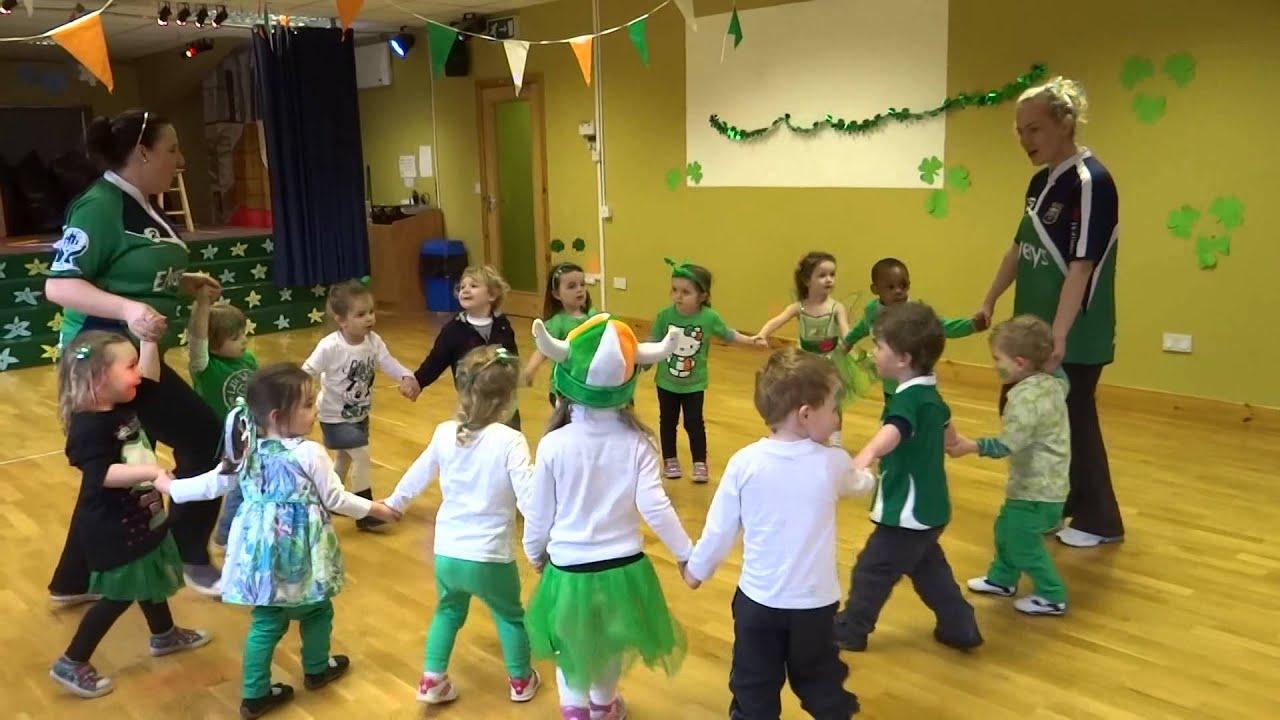 how to choreograph an irish dance