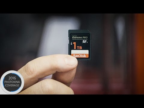 Sandisk Unveils Prototype of the World' First 1TB SD Card