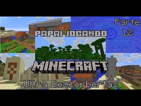 Papai jogando minecraft, Ultra descobertas! parte 12