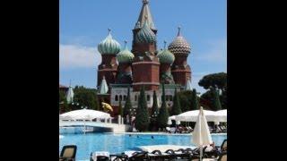 Kremlin Palace & Topkapi Palace Hotels, Lara Beach, 2014, Antalya.