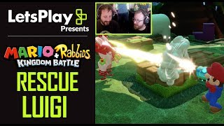 Mario + Rabbids Kingdom Battle: Rescue Luigi With Achievement Hunter | Let's Play Presents | Ubisoft