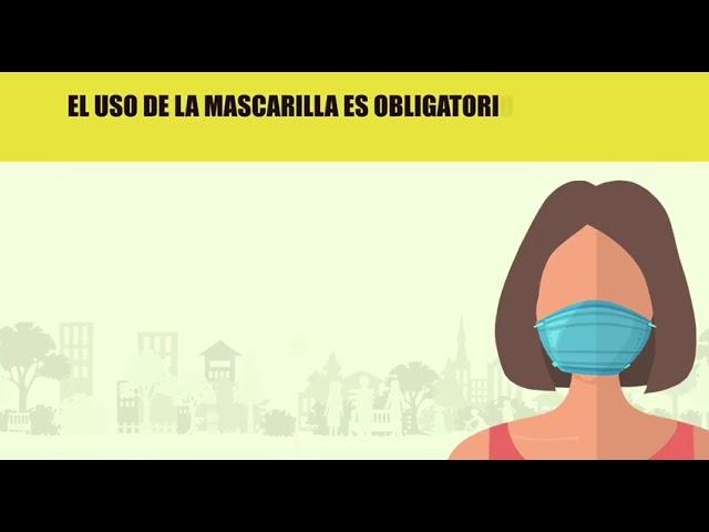 Vídeo explicativo de cómo usar la Mascarilla