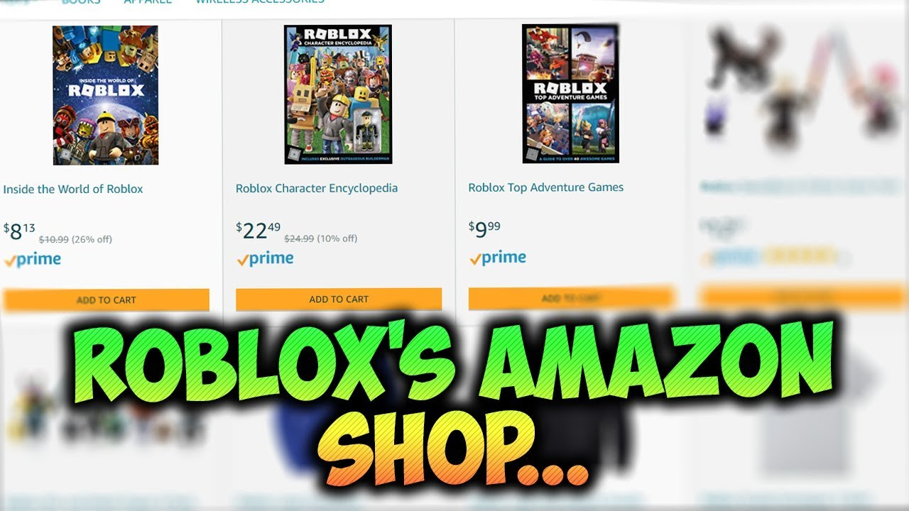 Roblox S Amazon Shop Youtube