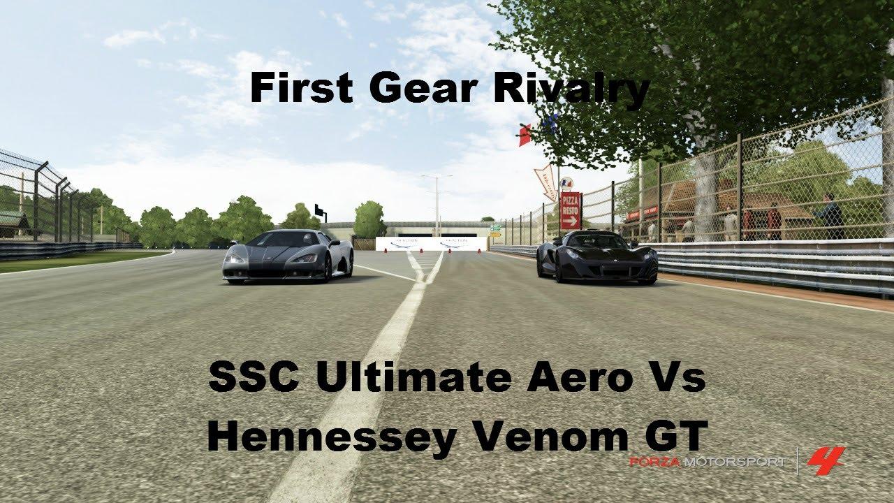 Forza Motorsport 4 - Bugatti Veyron 16.4 vs Koenigsegg ...  Forza Ssc Ultimate Aero Igcd