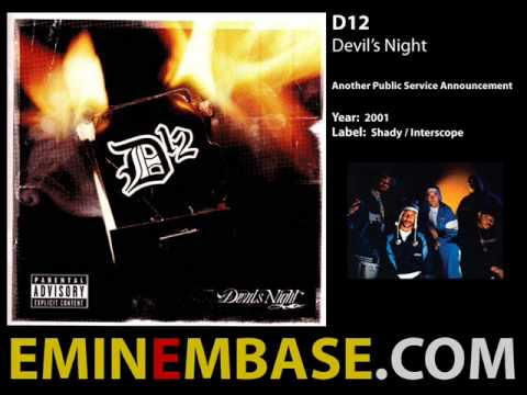 D12 Devil's Night (Full Album)