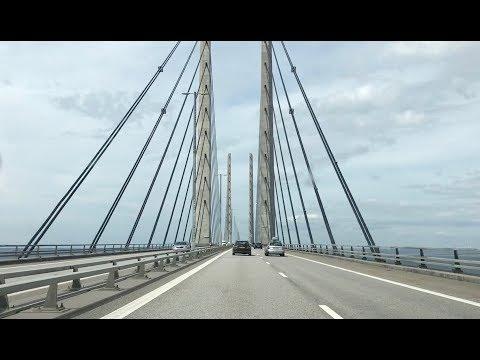 Øresund Bridge: Crossing from Malmö to Copenhagen